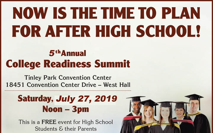 July 27th: 2019 Impact College Readiness Summit – FREE