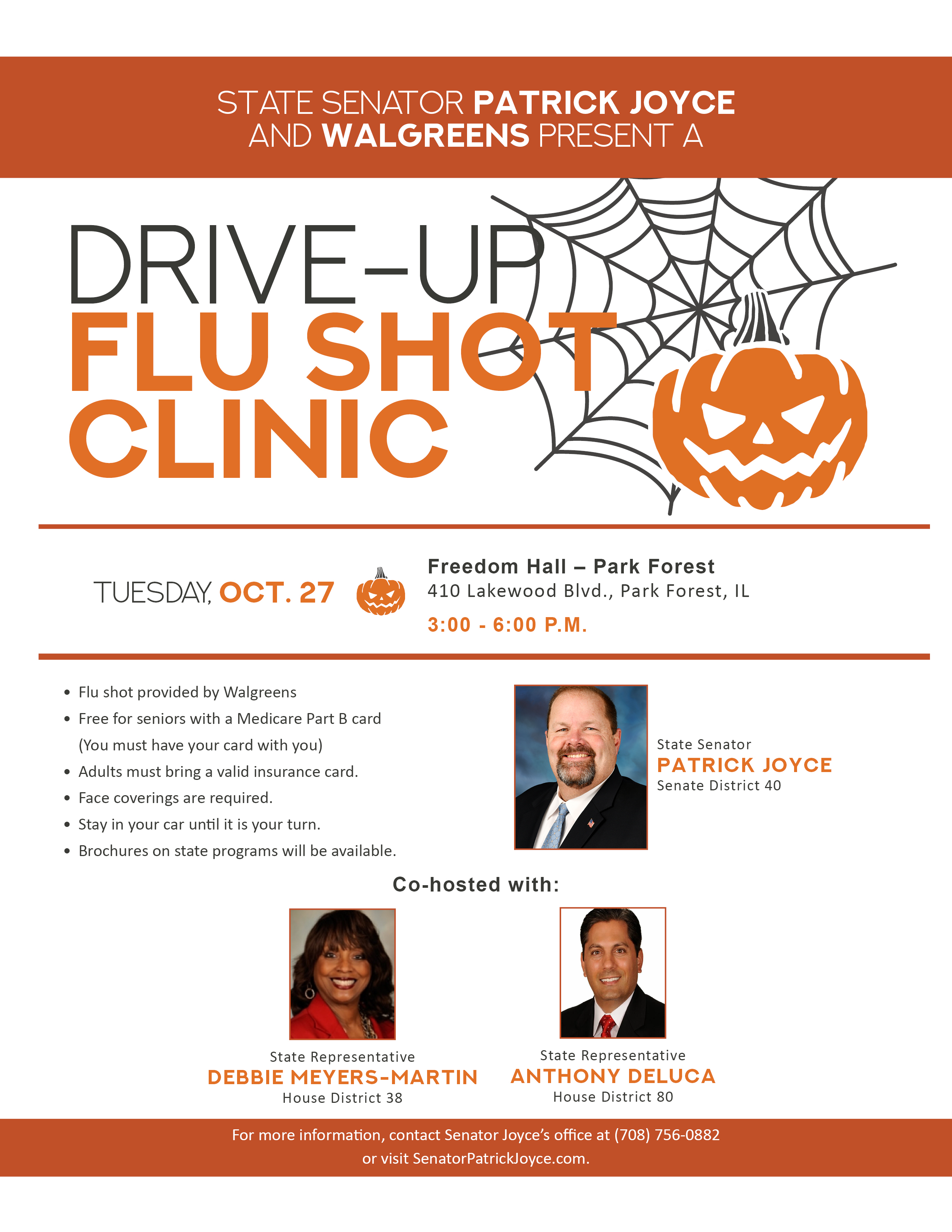 Drive-up Flu Shot Clinic @ Freedom Hall