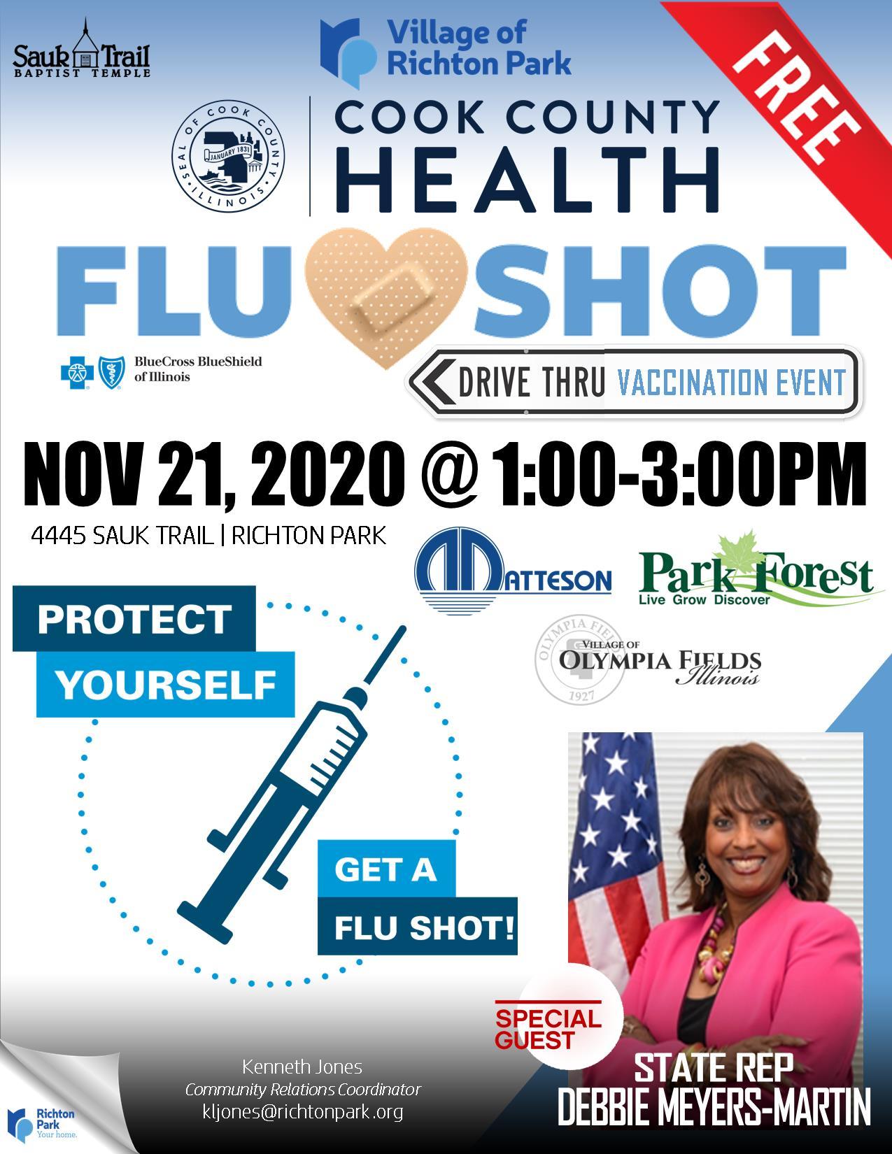 Drive Thru Flu Shot Event!