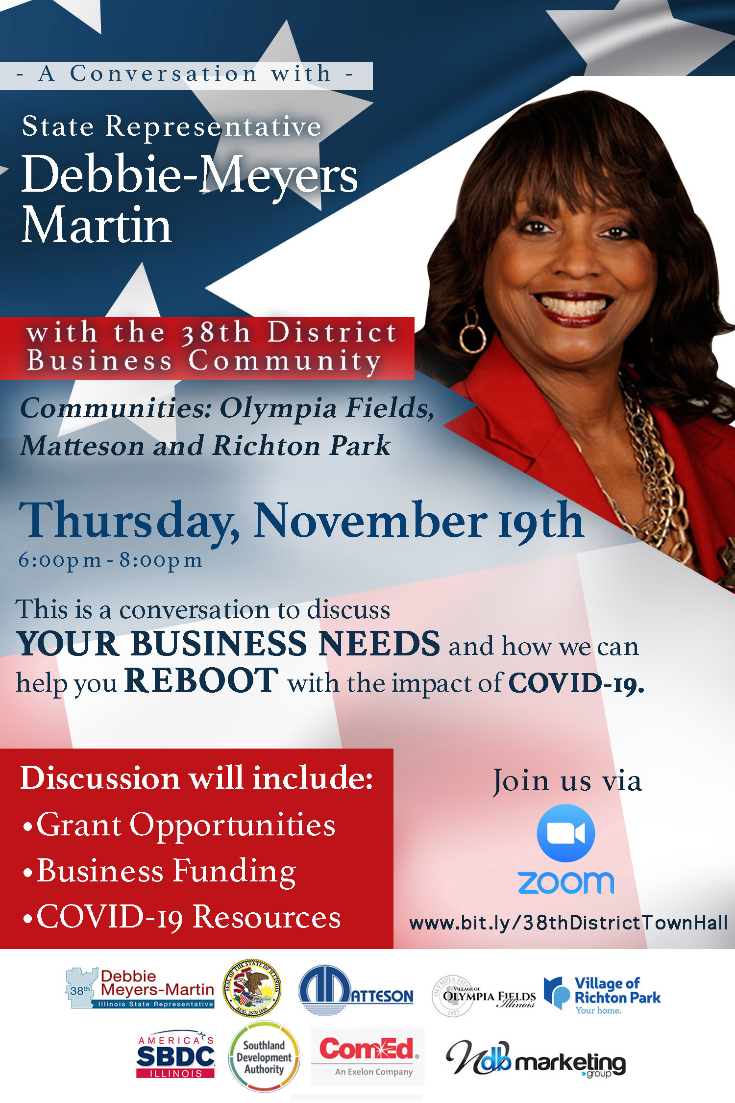 State Rep Debbie Meyers Martin Town Hall Meeting