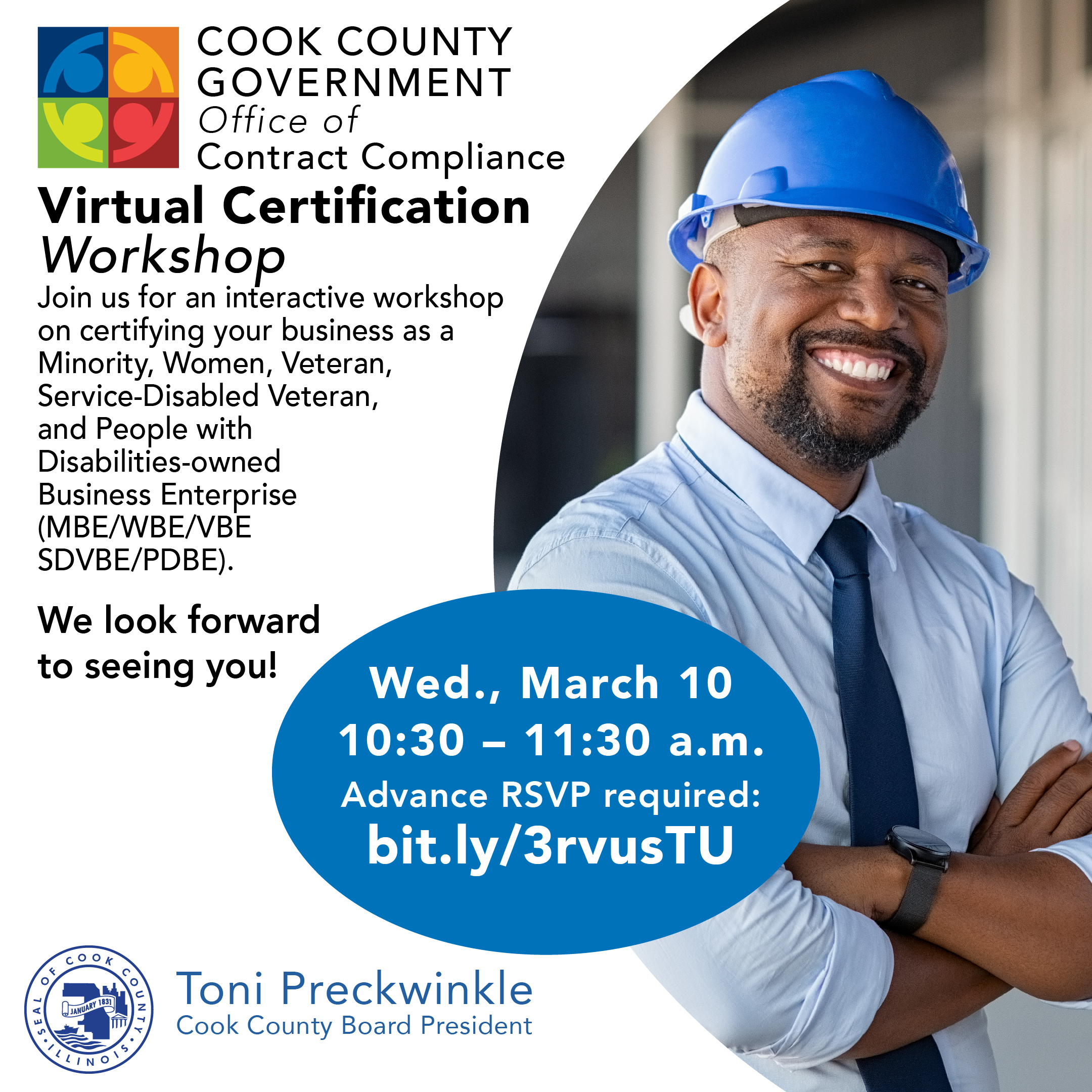 Cook County Virtual Certification Workshop