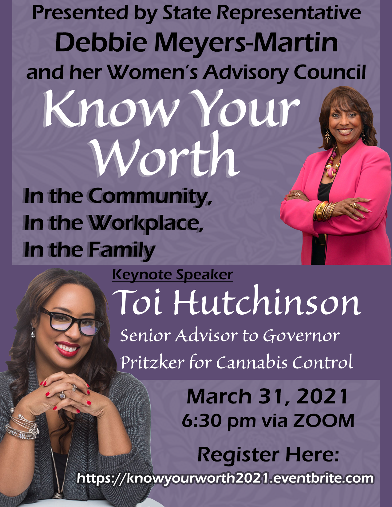 Know Your Worth – Women's Event